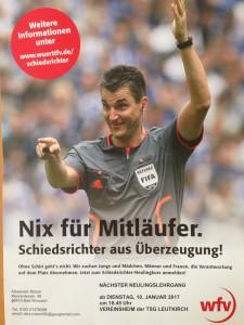 Nix für Mitläufer – Schiedsrichter aus Überzeugung